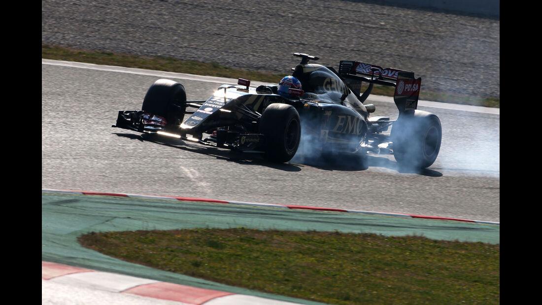 Jolyon Palmer - Lotus - Formel 1-Test - Barcelona - 20. Februar 2015