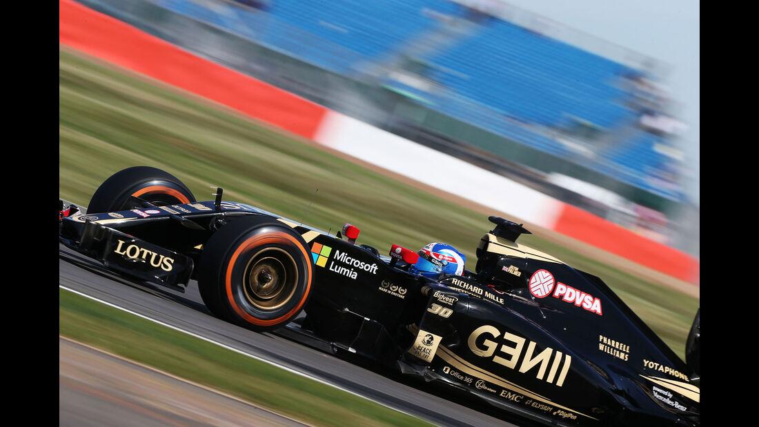 Jolyon Palmer - Lotus - GP England - Silverstone - Freitag - 3.7.2015