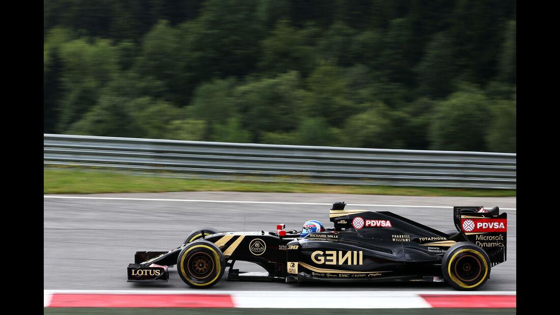 Jolyon Palmer - Lotus - GP Österreich - Formel 1 - Freitag - 19.6.2015