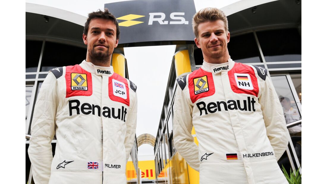 Jolyon Palmer - Nico Hülkenberg - Renault - Formel 1 - GP England - 16. Juli 2017