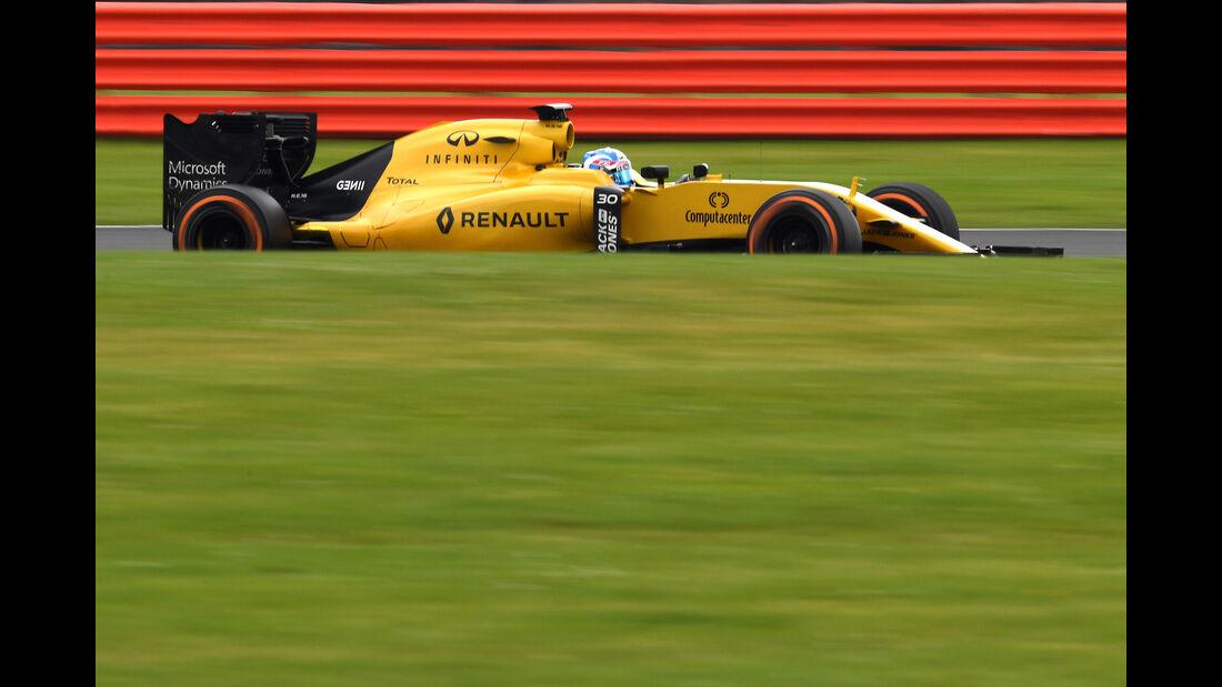 Jolyon Palmer - Renault - F1-Test - Silverstone - 13. Juli 2016