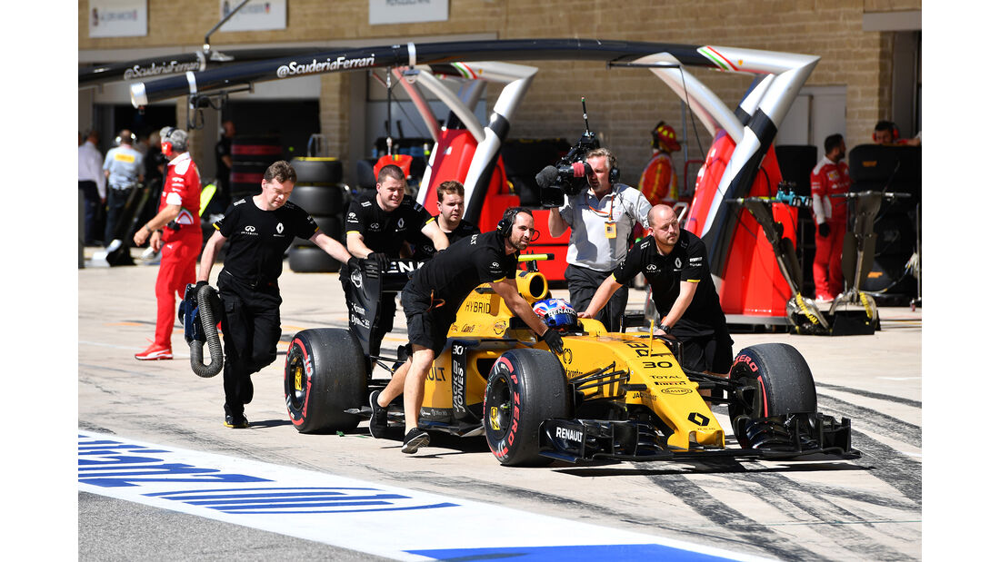 Jolyon Palmer - Renault - Formel 1 - Austin - GP USA - 22. Oktober 2016