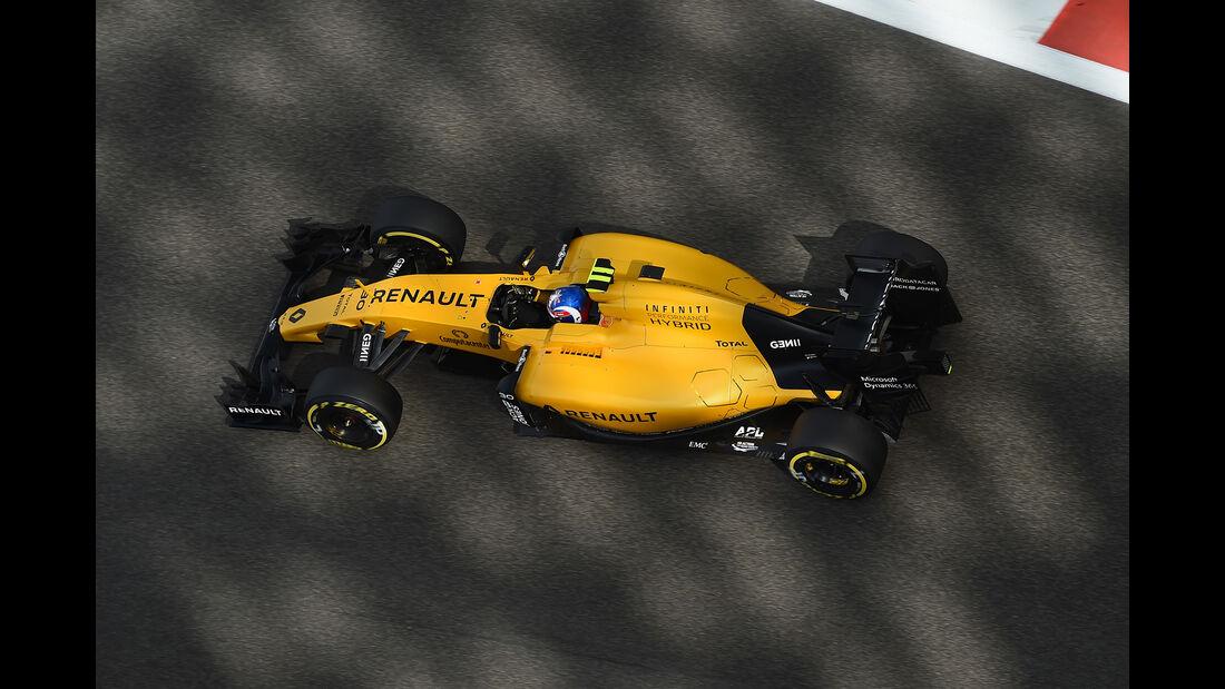 Jolyon Palmer - Renault - Formel 1 - GP Abu Dhabi - 25. November 2016