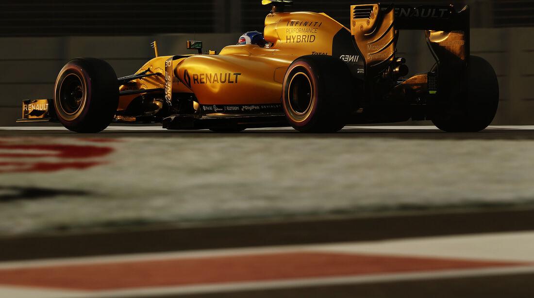 Jolyon Palmer - Renault - Formel 1 - GP Abu Dhabi - 26. November 2016
