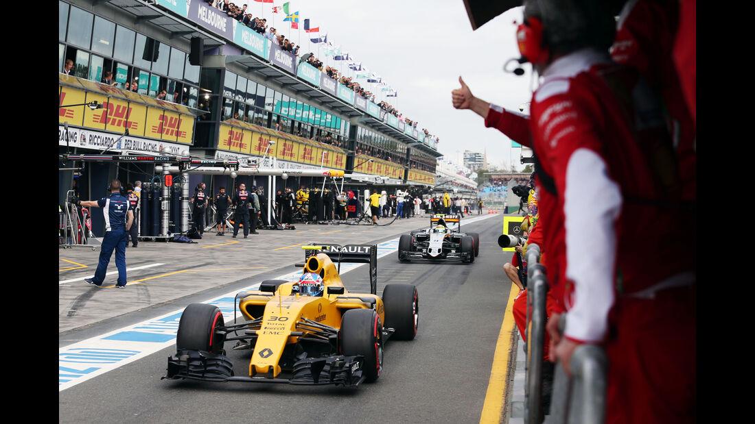 Jolyon Palmer - Renault - Formel 1 - GP Australien - Melbourne - 19. März 2016