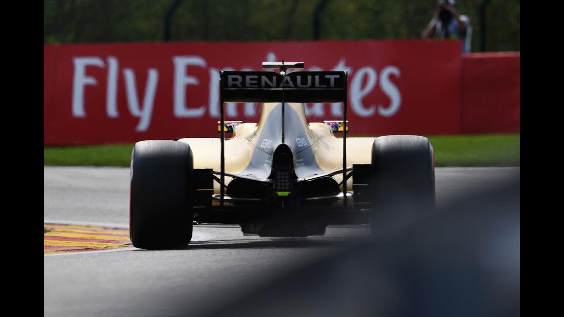 Jolyon Palmer - Renault - Formel 1 - GP Belgien - Spa-Francorchamps - 26. August 2016