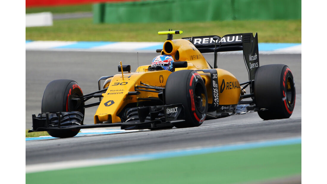 Jolyon Palmer - Renault  - Formel 1 - GP Deutschland - 30. Juli 2016