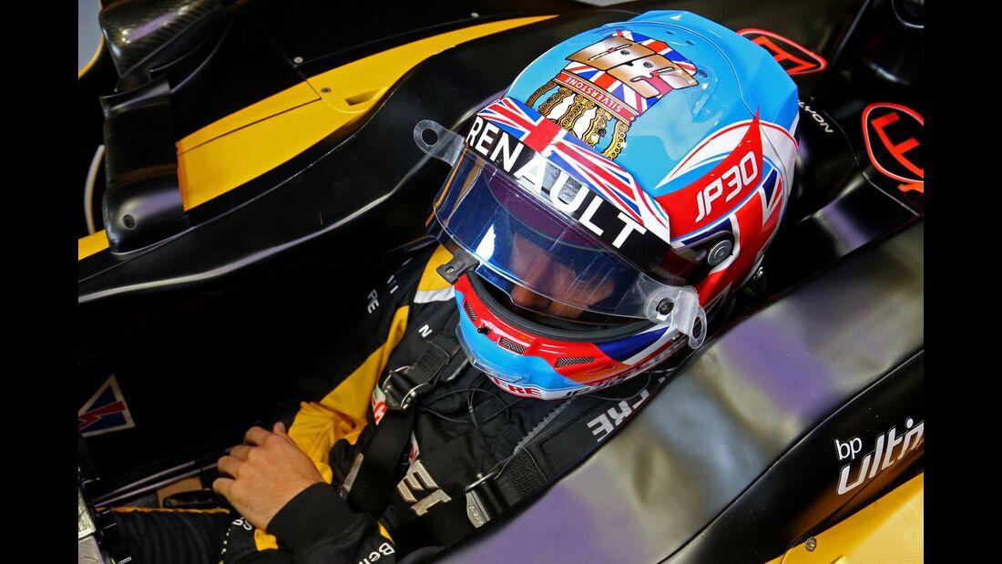 Jolyon Palmer - Renault - Formel 1 - GP England - 14. Juli 2017