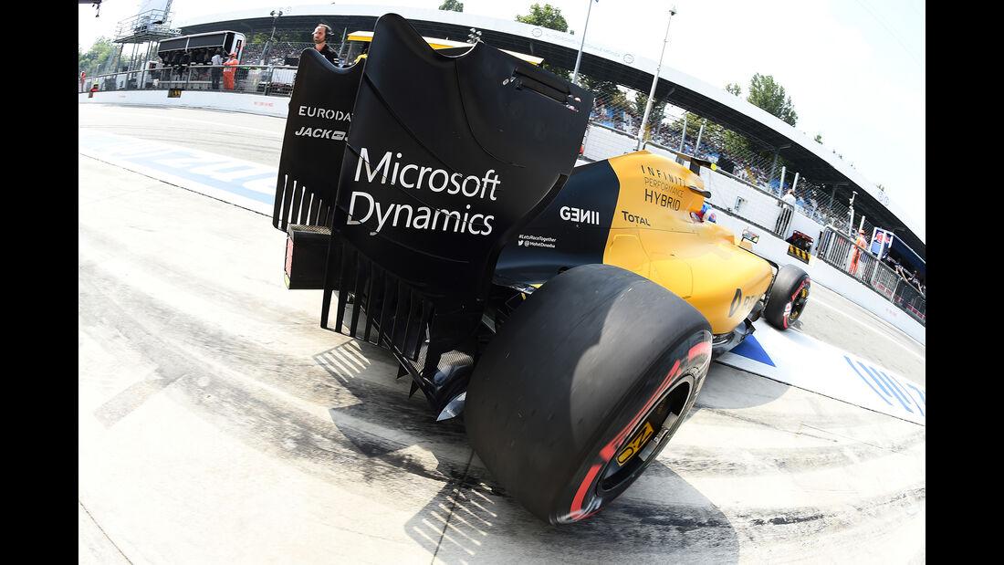 Jolyon Palmer - Renault - Formel 1 - GP Italien - Monza - 2. September 2016