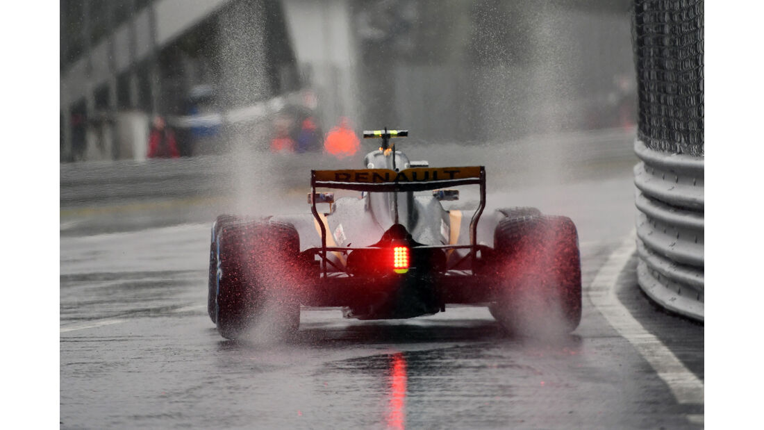 Jolyon Palmer - Renault - Formel 1 - GP Italien - Monza - 2. September 2017