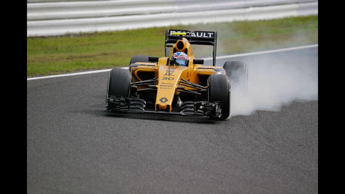 Jolyon Palmer - Renault - Formel 1 - GP Japan 2016 - Suzuka