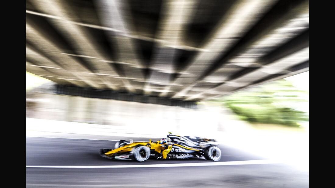 Jolyon Palmer - Renault - Formel 1 - GP Japan - Suzuka - 6. Oktober 2017