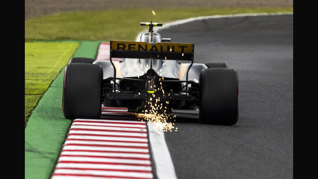 Jolyon Palmer - Renault - Formel 1 - GP Japan - Suzuka - 7. Oktober 2017