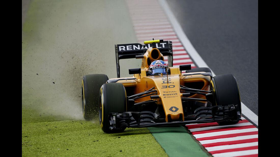 Jolyon Palmer - Renault - Formel 1 - GP Japan - Suzuka - Qualifying - Samstag - 8.10.2016