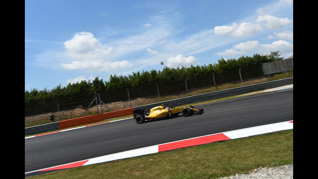 Jolyon Palmer - Renault -  Formel 1 - GP Malaysia - Freitag - 30.9.2016