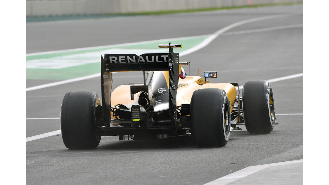 Jolyon Palmer - Renault - Formel 1 - GP Mexiko - 28. Oktober 2016
