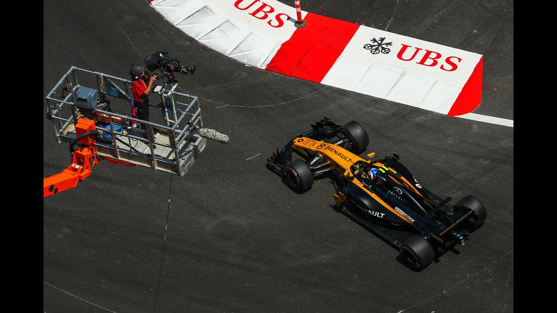 Jolyon Palmer - Renault - Formel 1 - GP Monaco - 27. Mai 2017