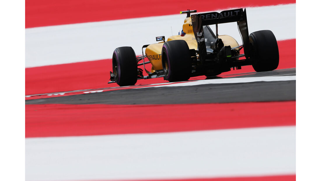 Jolyon Palmer - Renault - Formel 1 - GP Österreich - 1. Juli 2016