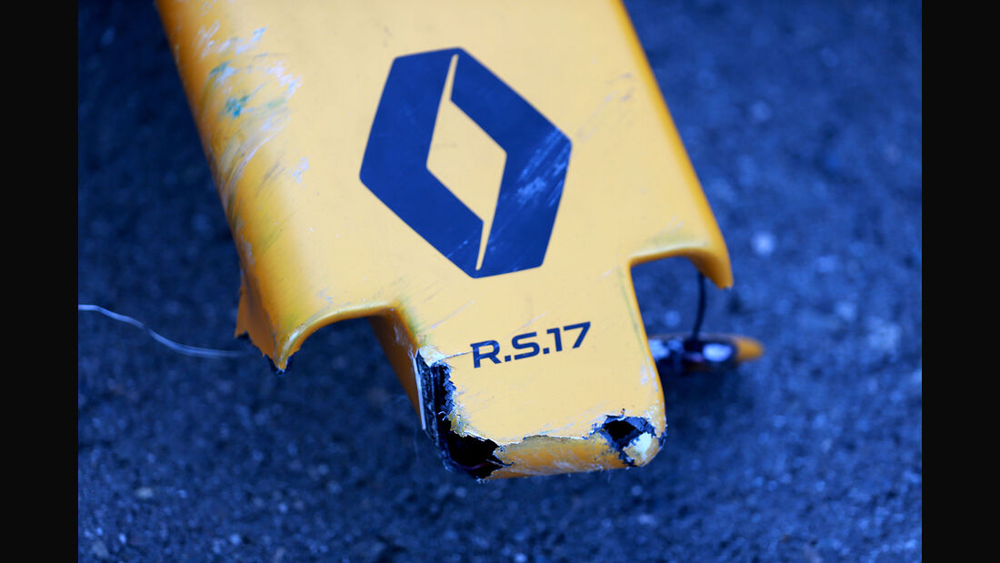 Jolyon Palmer - Renault - Formel 1 - GP Russland - Sotschi - 29. April 2017
