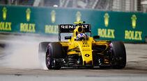 Jolyon Palmer - Renault - Formel 1 - GP Singapur - 17. September 2016