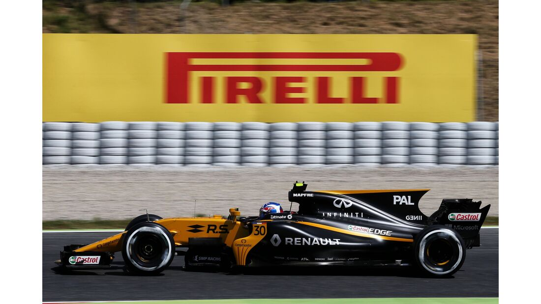 Jolyon Palmer - Renault - Formel 1 - GP Spanien - 13. Mai 2017