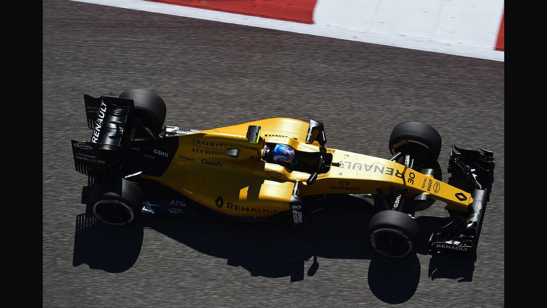 Jolyon Palmer - Renault - Formel 1 - GP USA - Austin - 21. Oktober 2016