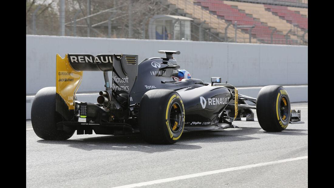 Jolyon Palmer - Renault - Formel 1-Test - Barcelona - 23. Februar 2016