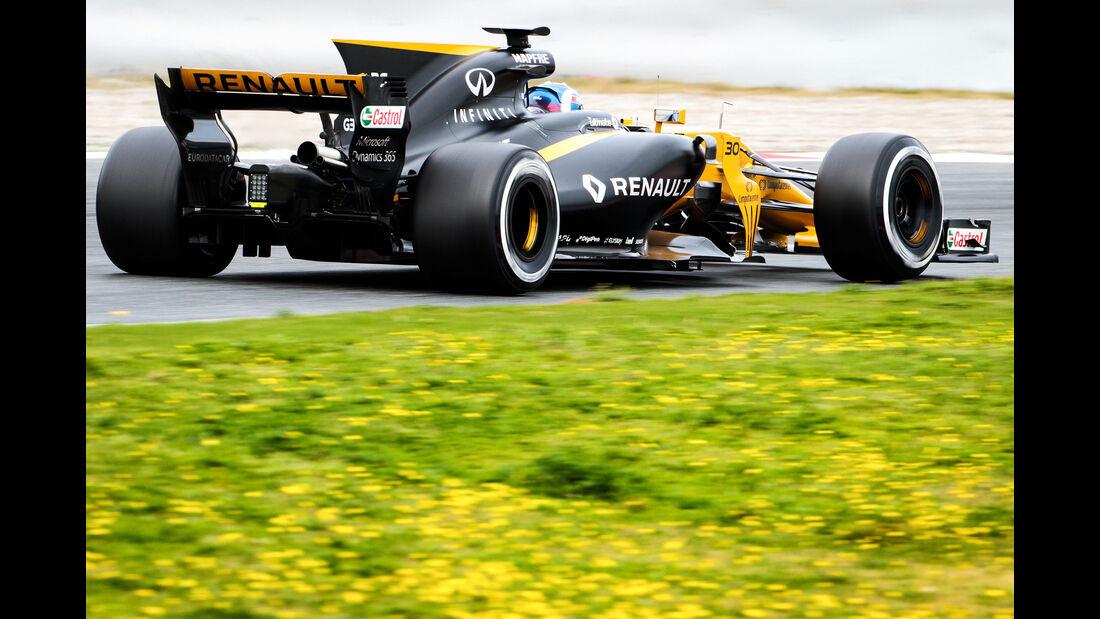 Jolyon Palmer - Renault - Formel 1 - Test - Barcelona - 28. Februar 2017