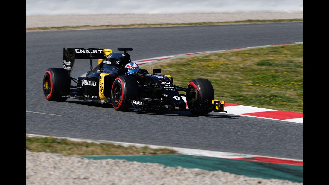 Jolyon Palmer - Renault - Formel 1-Test - Barcelona - 4. März 2016