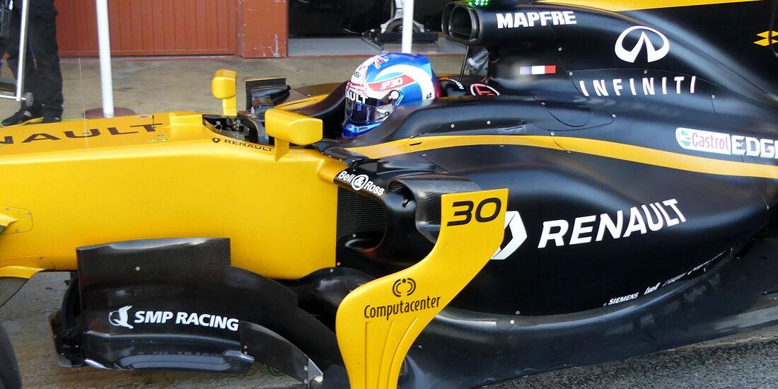 Jolyon Palmer - Renault - Formel 1 - Test - Barcelona - 7. März 2017