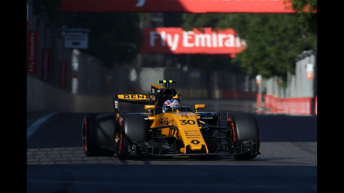 Jolyon Palmer - Renault - GP Aserbaidschan 2017 - Baku