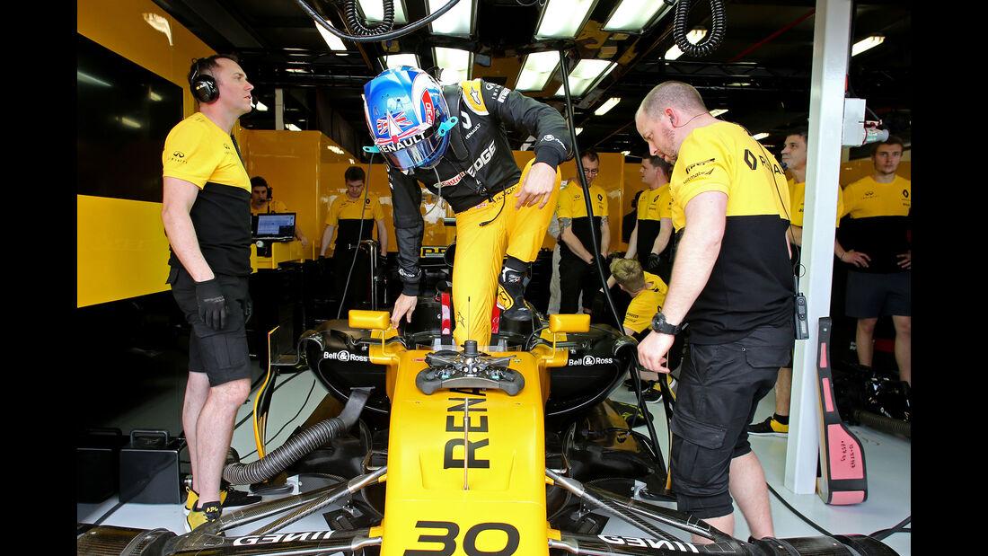 Jolyon Palmer - Renault - GP Australien - Melbourne - 24. März 2017