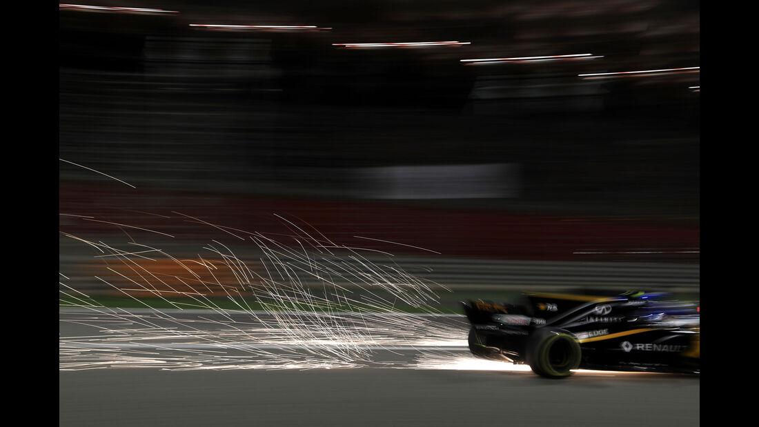 Jolyon Palmer - Renault - GP Bahrain 2017 - Rennen