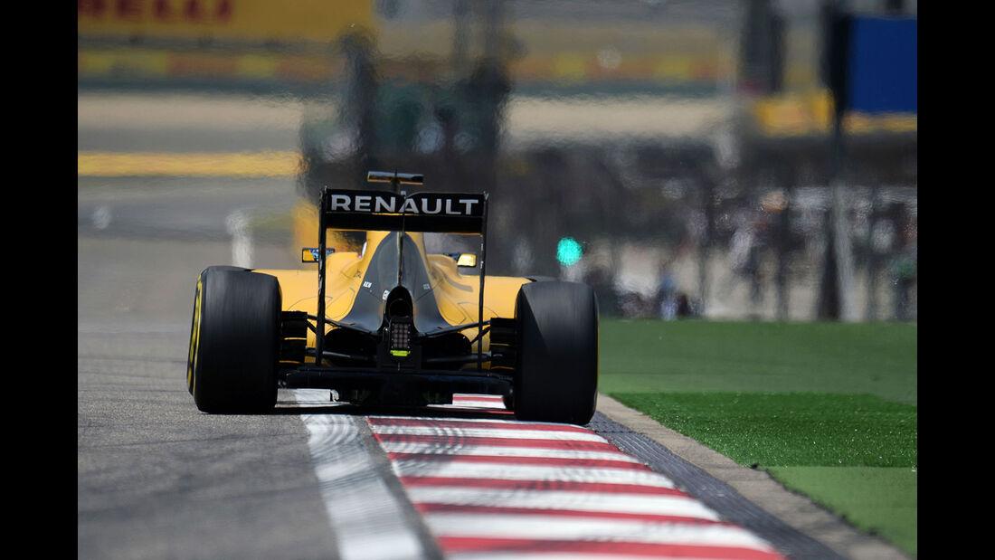 Jolyon Palmer - Renault - GP China - Shanghai - Freitag - 15.04.2016