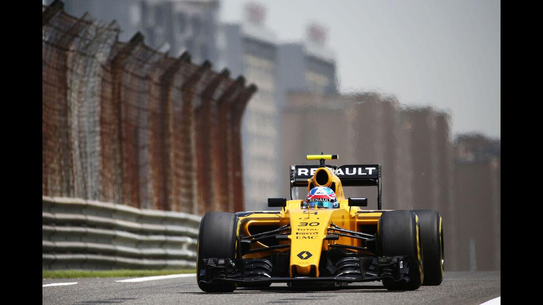 Jolyon Palmer - Renault - GP China - Shanghai - Freitag - 15.4.2016