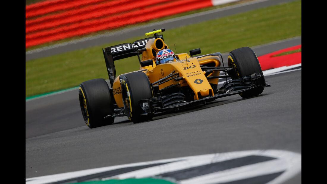 Jolyon Palmer - Renault - GP England - Silverstone - Formel 1 - Freitag - 8.7.2016