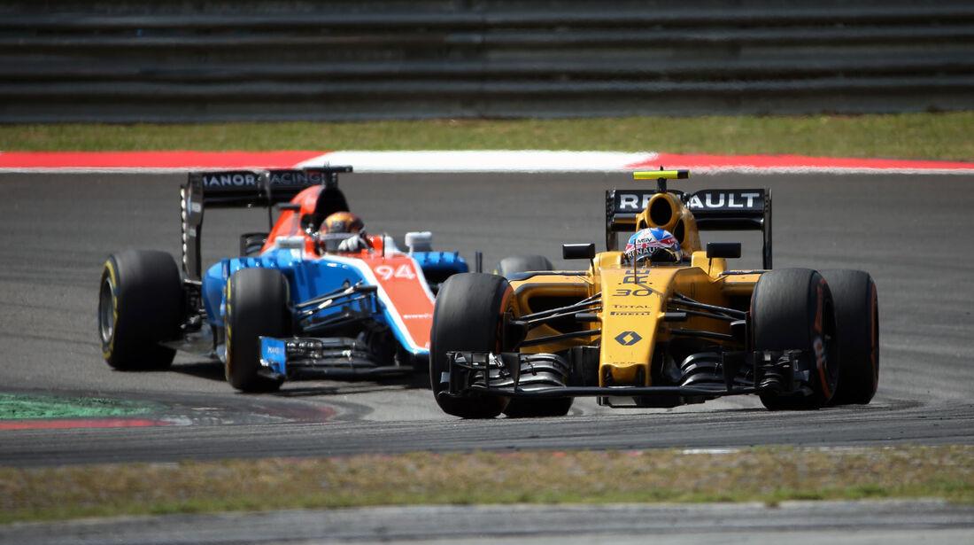 Jolyon Palmer - Renault - GP Malaysia 2016 - Sepang
