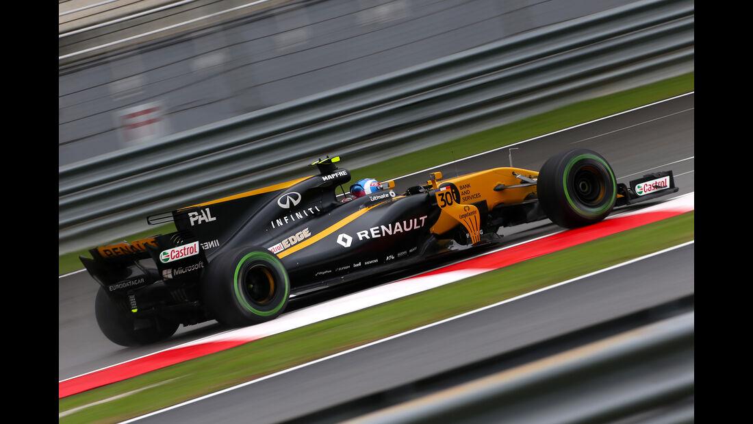Jolyon Palmer - Renault - GP Malaysia - Sepang - 29. Oktober 2017