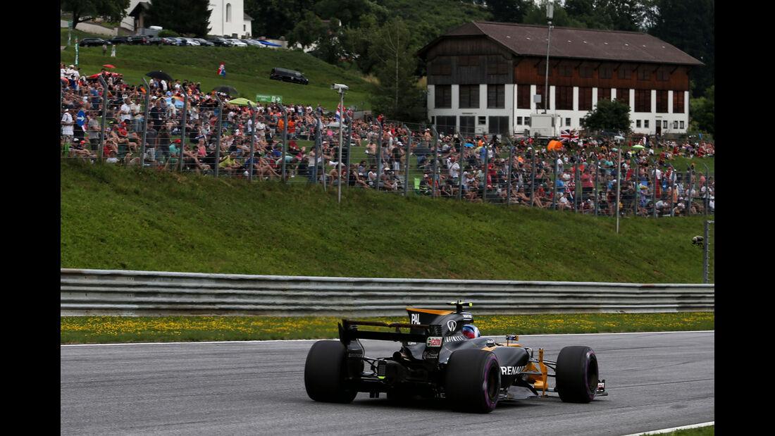 Jolyon Palmer - Renault - GP Österreich 2017 - Spielberg - Qualifying