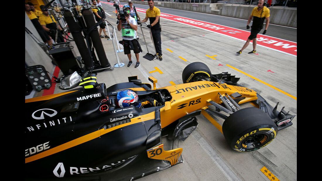 Jolyon Palmer - Renault - GP Österreich - Spielberg - Formel 1 - Freitag - 7.7.2017