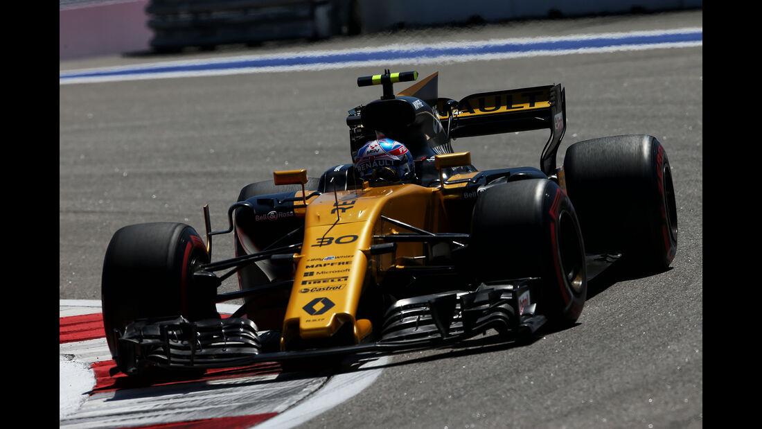 Jolyon Palmer - Renault - GP Russland - Sotschi  - Formel 1 - 28. April 2017