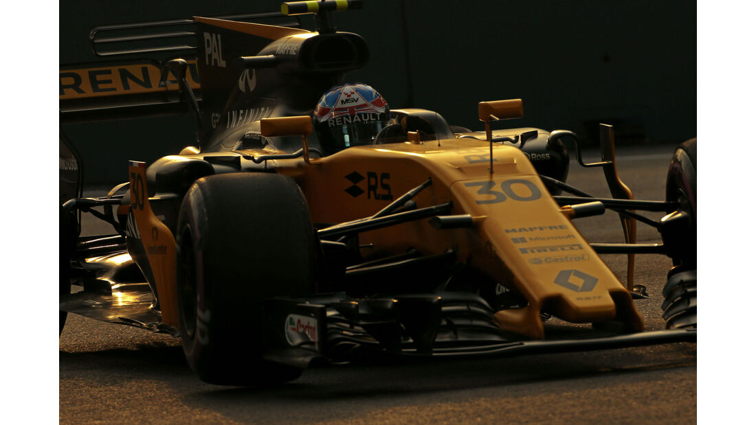 Jolyon Palmer - Renault - GP Singapur - Formel 1 - Freitag - 15.9.2017