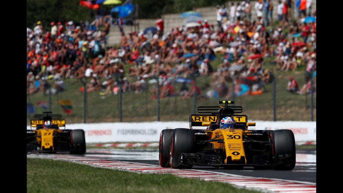 Jolyon Palmer - Renault - GP Ungarn 2017 - Budapest