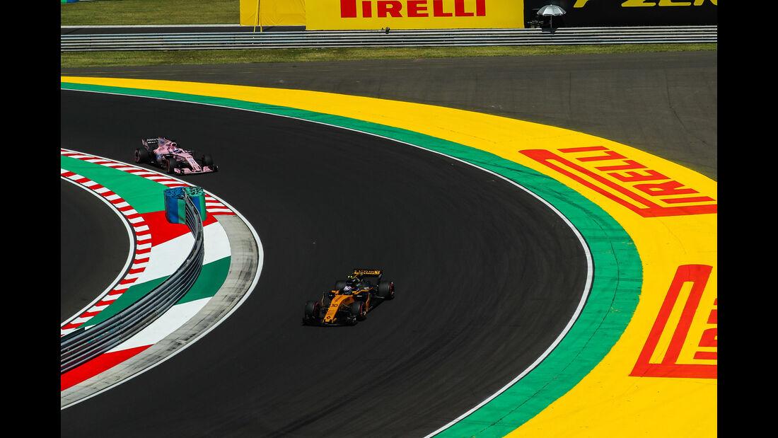 Jolyon Palmer - Renault - GP Ungarn 2017 - Budapest - Qualifying
