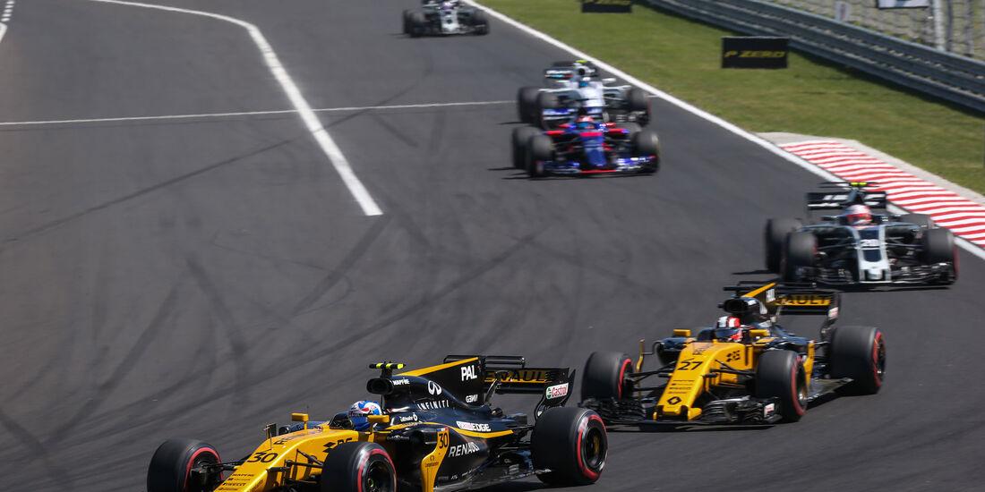 Jolyon Palmer - Renault - GP Ungarn 2017 - Budapest - Rennen