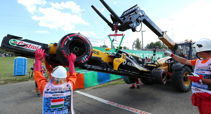 Jolyon Palmer - Renault - GP Ungarn - Budapest - 28. Juli 2017