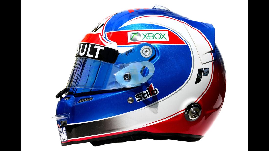 Jolyon Palmer - Renault - Helm - Formel 1 - 2016