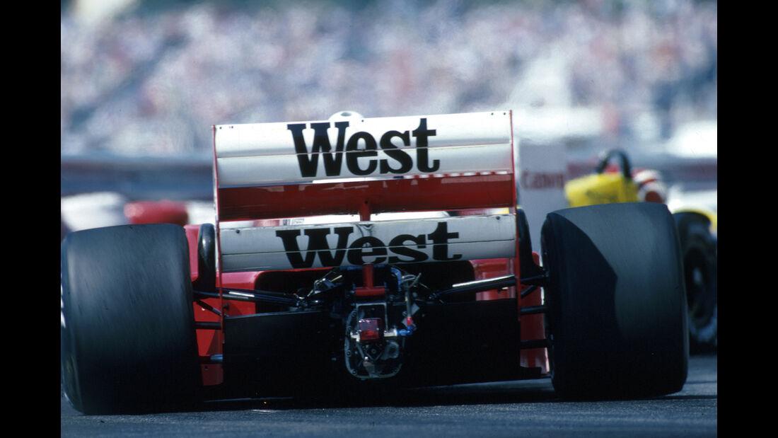 Jonathan Palmer - Zakspeed - GP Monaco 1986