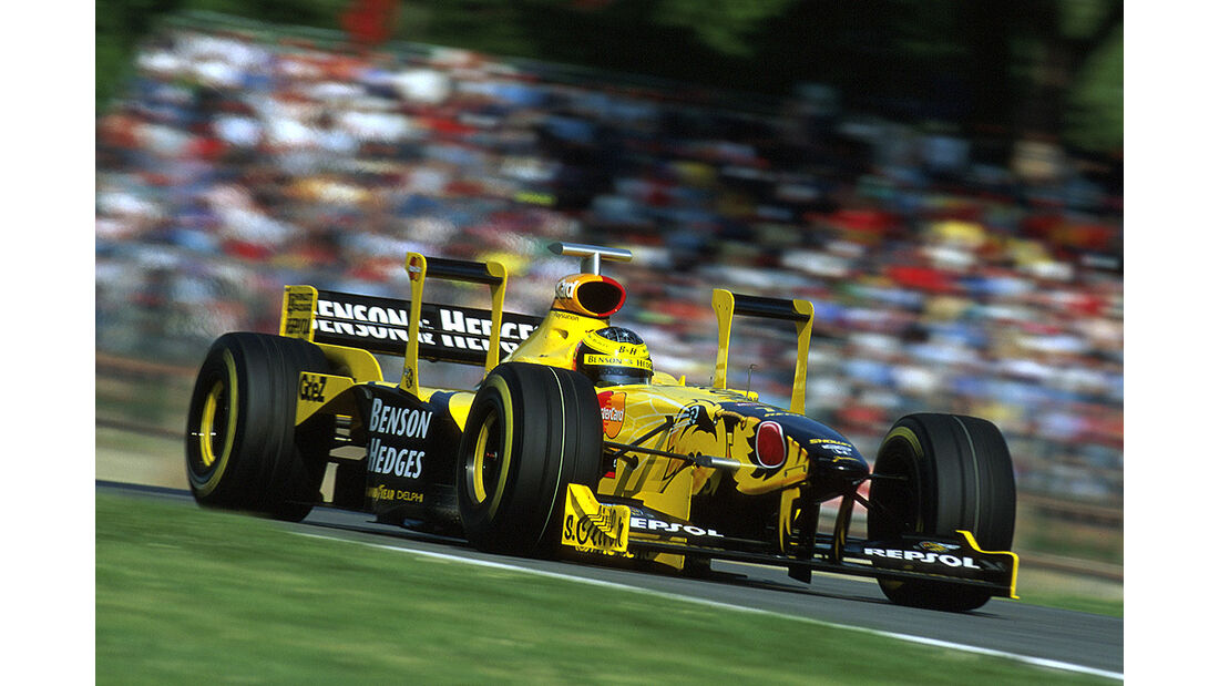 Jordan Honda 198 1991 Ralf Schumacher