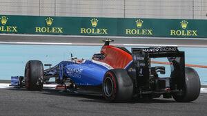 Jordan King - Manor - Formel 1 - GP Abu Dhabi - 25. November 2016